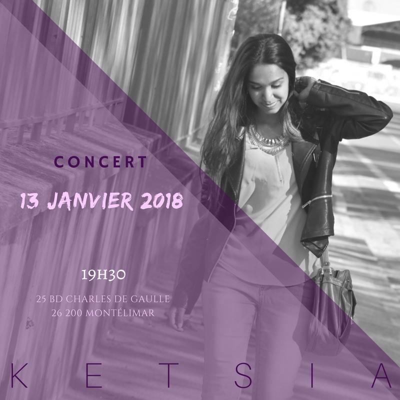 affiche concert ketsia